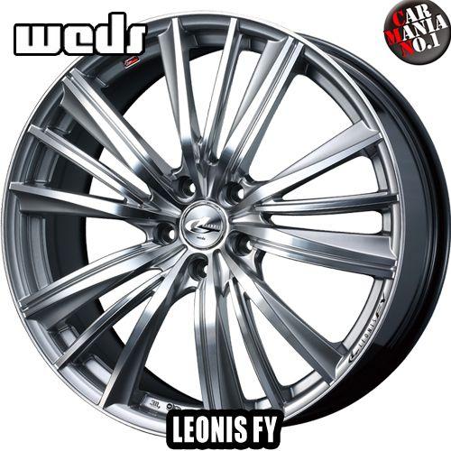 21×8.5J +38 5/114.3 Weds(ウェッズ) レオニスFY カラー:HSMCIII 21インチ 5穴 PCD114.3 ホイール新品1本 LEONIS