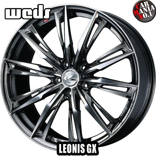 【2本セット】 Weds(ウェッズ) レオニスGX 19×7.5J +48 5/114.3 カラー:BMCMC 19インチ 5穴 P.C.D114.3 ホイール新品2本 LEONIS