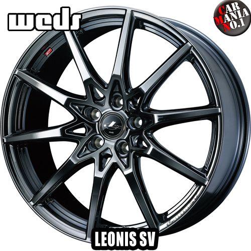 17×7.0J +47 5/100 Weds(ウェッズ) レオニスSV カラー:BMC1 17インチ 5穴 P.C.D100 ホイール新品1本 LEONIS SK