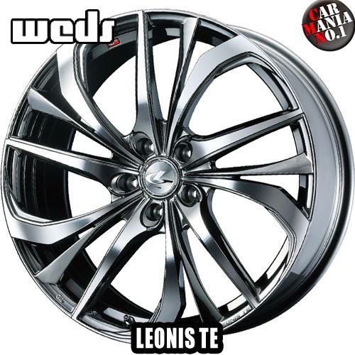 【2本セット】 Weds(ウェッズ) レオニスTE 17×6.5J +42 4/100 カラー:BMCMC 17インチ 4穴 P.C.D100 ホイール新品2本 LEONIS TE