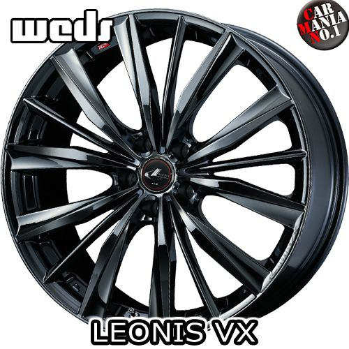 16×5.0J +45 4/100 Weds(ウェッズ) レオニスVX カラー:BMC1 16インチ 4穴 P.C.D100 ホイール新品1本 LEONIS VX