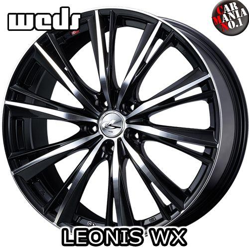 (4本セット) 15×4.5J +45 4/100 Weds(ウェッズ) レオニスWX カラー:BKMC 15インチ 4穴 P.C.D100 ホイール新品4本 LEONIS WX