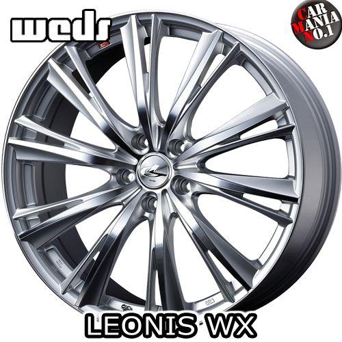 20×8.5J +45 5/114.3 Weds(ウェッズ) レオニスWX カラー:HSMC 20インチ 5穴 P.C.D114.3 ホイール新品1本 LEONIS WX