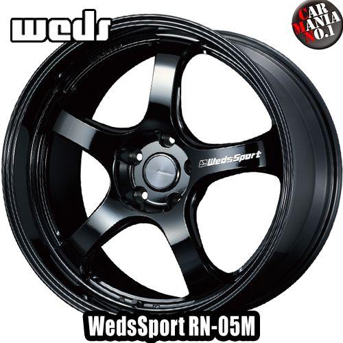 【4本セット】 Weds(ウェッズ) ウェッズスポーツ RN-05M 19×8.5J +38 5/114.3 カラー:GB 19インチ 5穴 P.C.D114.3 ホイール新品4本 WedsSport