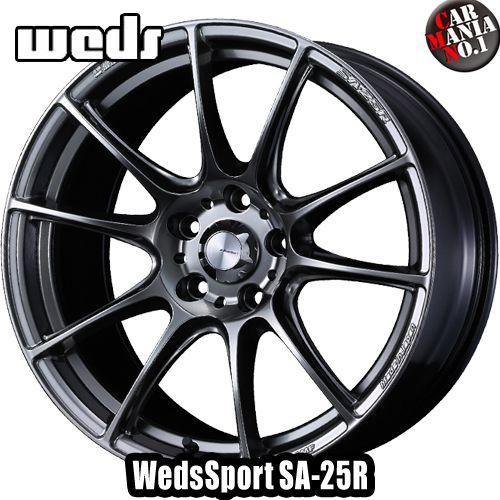 【2本セット】 Weds(ウェッズ) ウェッズスポーツ SA-25R 17×7.0J +48 5/100 カラー:PSB 17インチ 5穴 P.C.D100 ホイール新品2本 WedsSport