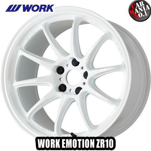 【4本セット】 WORK(ワーク) ワークエモーション ZR10 18×9.5J +12 5/114.3 カラー:AZW 18インチ 5穴 P.C.D114.3 ホイール新品4本 WORK EMOTION