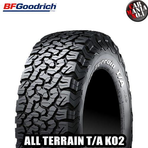【2本セット】 BFGoodrich(BFグッドリッチ) All-Terrain T/A KO2 LT265/70R16 121/118S LRE RWL ホワイトレター オールテレーン T/A KO2 16インチ 新品2本・正規品 サマータイヤ