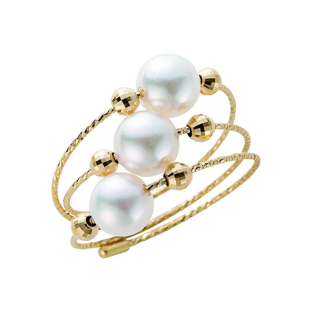 18K あこや パール リング 指輪 18金 アコヤ 真珠 5.5mm~6.0mm レディース 女性 プレゼント 結婚式 入学式 入園式 卒業式 卒園式