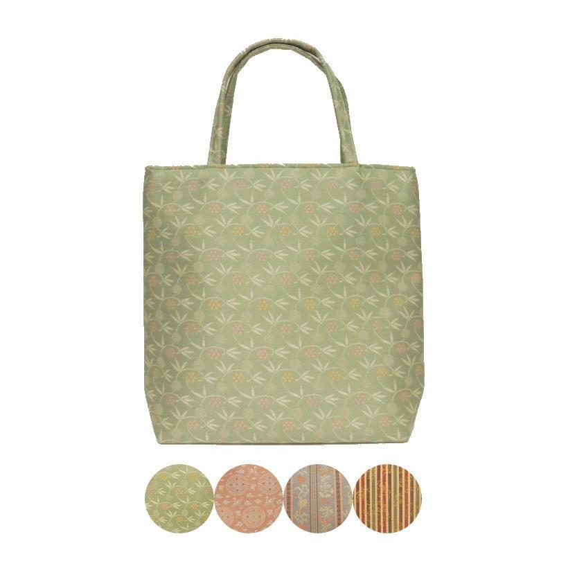 【和装バッグ トートバッグ】 フリーバッグ 正絹 名物裂使用 荒磯製(あらいそ) 4類から選べます。 【smtb-KD】