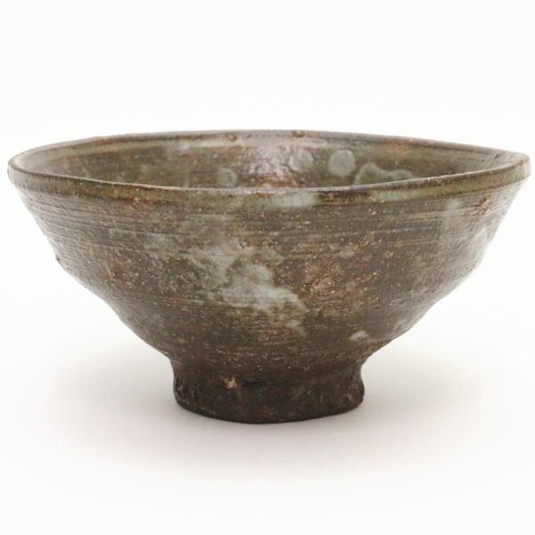 【茶器/茶道具 抹茶茶碗】 高麗茶碗 柿の蔕(かきのへた) 丸子窯 【smtb-KD】