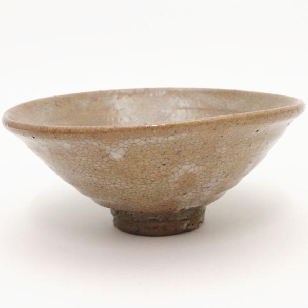 【茶器/茶道具 抹茶茶碗】 平茶碗 青井戸茶碗 丸子窯