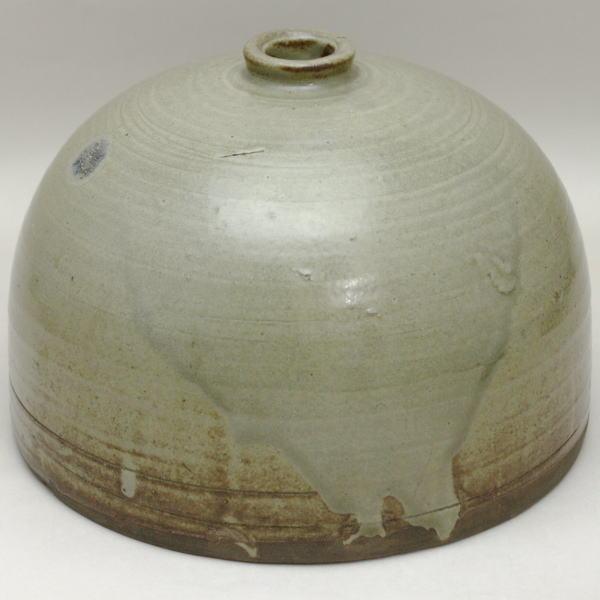 【茶器/茶道具 花入 置用】 尾戸焼き 舟とっくり (置き花入れ・置花入れ・置き用・置用)