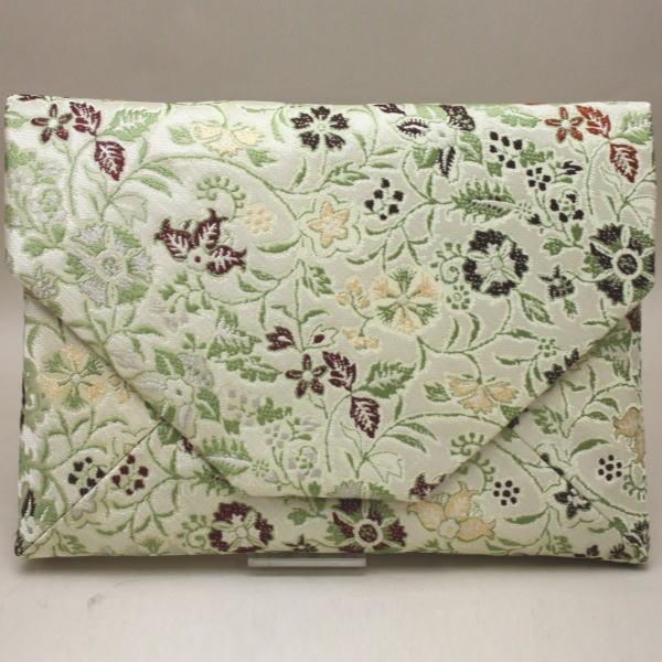 【茶道具 数奇屋袋(数寄屋袋)】 正絹 早雲寺文台裂 龍村美術織物