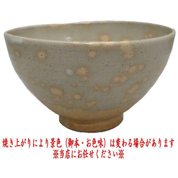 【茶器/茶道具 抹茶茶碗】 御本半使 丸子窯