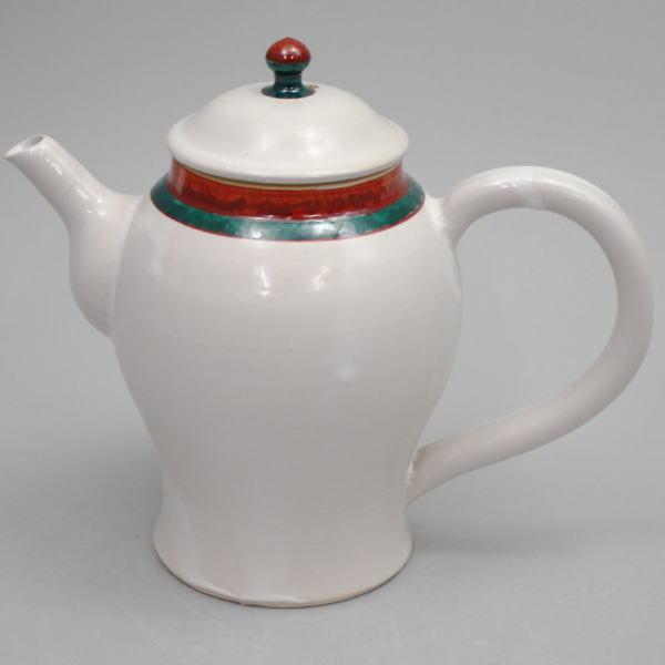山本太仙窯 萬古焼き 水注(水次)】 【煎茶道具 白釉