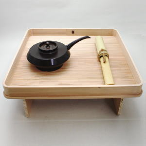 茶道具セット【茶器/茶道具 水屋道具】 花台セット (花小刀・花水注・花台) 【smtb-KD】