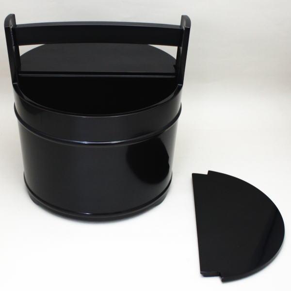 【茶器/茶道具 水指(水差し)】 手桶水指 利休好 合成 中村宗悦作
