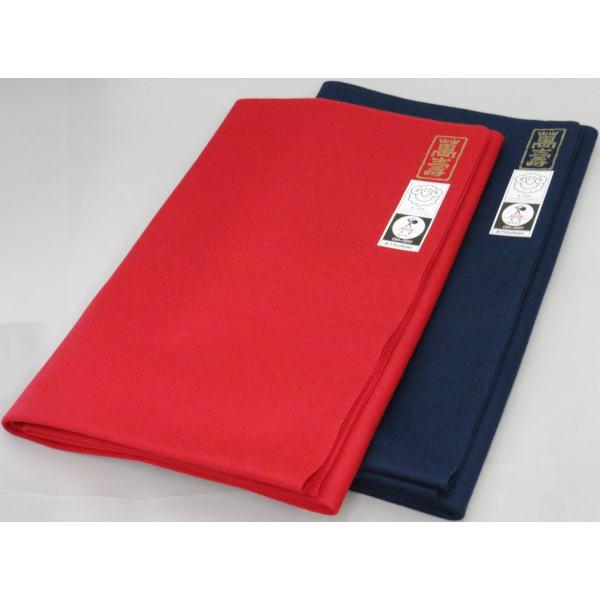 【茶道具 毛氈】 萬寿 赤又は紺 材質:ウール 約縦95×横190×厚み0.1cm 【smtb-KD】
