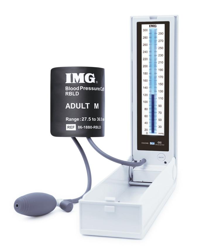 【送料無料】IMGマノメーター E302WB 血圧計