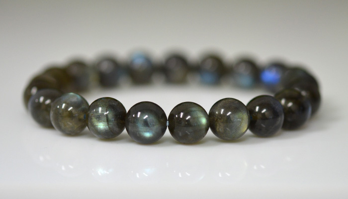 It Is A High Quality Labradorite Very Beautiful Bracelets Stone Name The Size Of 9 0mm Bore Rox