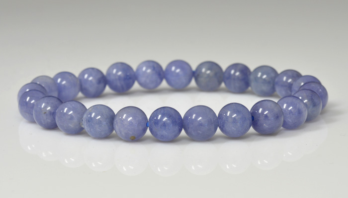 gorgeous quality plain mm roundel approx kci inch long necklace aaa rondelle proddetail tanzanite smooth string