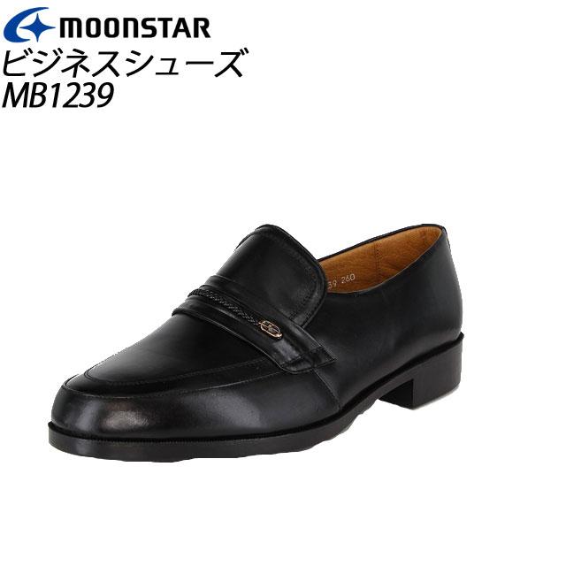 ムーンスター メンズ ビジネスシューズ MB1239 ブラック 41212391 MOONSTAR MS シューズ