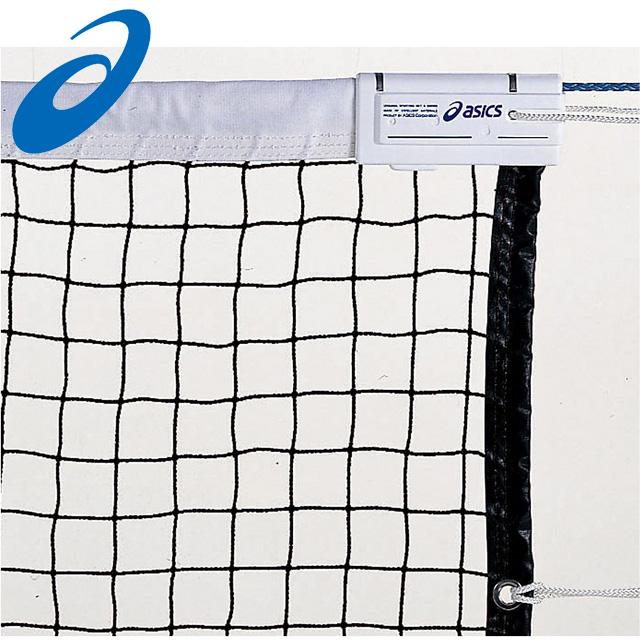 アシックス テニス ポピュラータイプ硬式テニスネット (財)日本テニス協会推薦 11400K asics