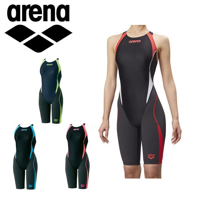 アリーナ 競泳 水着 レディース セイフリーバックスパッツ 着やストラップ 女性用 はっ水 ARN8080W arena
