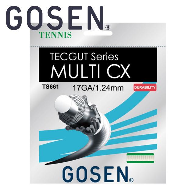 ゴーセン GOSEN テニス ガット TS6612NA