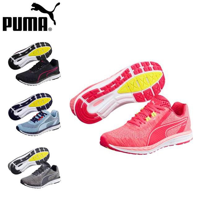 プーマ レディース ランニング シューズ スニーカー 靴 スピード 500 イグナイト 3 ウィメンス マラソン 反発性 クッション性 PUMA 190917