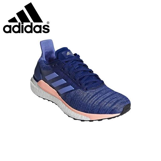 アディダス レディース ランニングシューズ スニーカー 靴 SOLAR GLIDE 軽量 コンチネンタルラバー WAQ0334 adidas