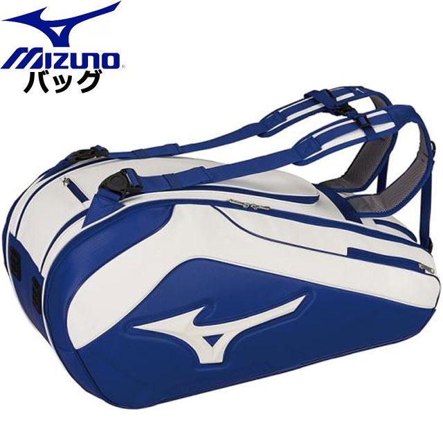 ミズノ テニス ラケットバッグ 9本入れ MIZUNO 63GD9002 バッグ グローバルフラッグシップモデルウエア ユニセックス