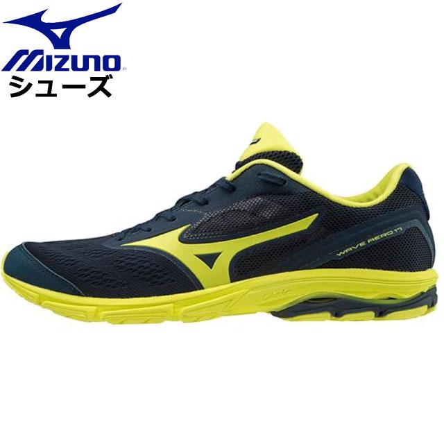 ミズノ ランニング ウエーブエアロ17 ワイド MIZUNO J1GA1936 ランニングシューズ 靴 スニーカー トレーニング フルマラソンサブ4ウエア メンズ