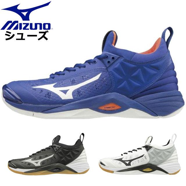 ミズノ バレーボール ウエーブモーメンタム MIZUNO V1GA1912 シューズ 靴 スニーカー ジャンプモーション ウエア ユニセックス