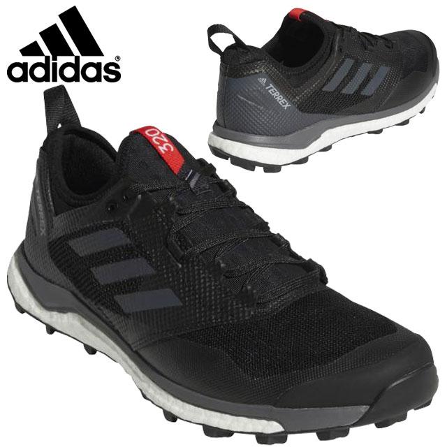 アディダス ランニングシューズ シューズ 運動靴 靴 合皮 走破性 グリップ力 クッション性 デザイン シンプル スポーツ 運動 トレーニング 練習 ランニング マラソン ジョギング メンズ 送料無料 黒 ブラック グレー AC7660 adidas