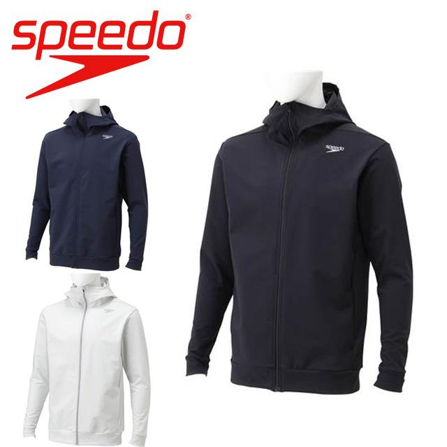 スピード speedo メンズ ウィンドブレーカー ストレッチシェル ZIP フーディー SD18W54
