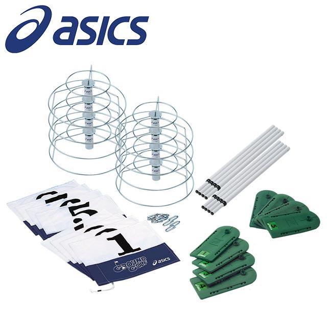 asics アシックス ゴルフ用品 3283A026グラウンドゴルフ GG 8ホールセット