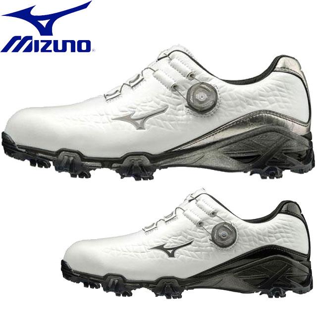 ミズノ ゴルフシューズ メンズ ジェネム009 ボア EEE MIZUNO 51GM1900