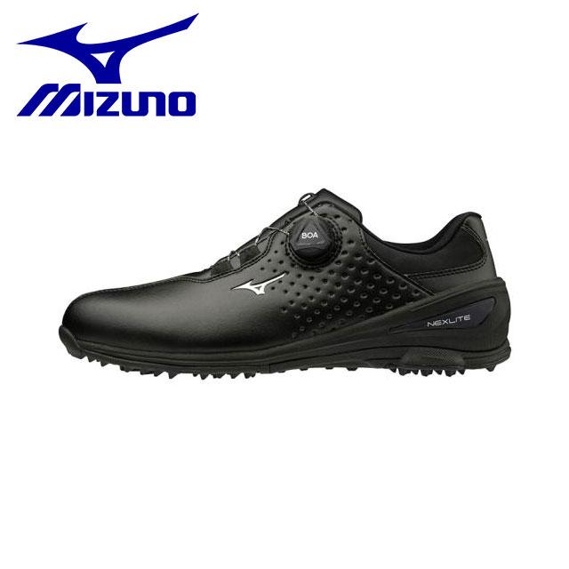 ミズノ メンズ ゴルフ シューズ 靴 ネクスライト006ボア EEE BOA 軽量 防水 安定性 51GM1920 MIZUNO