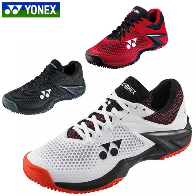 送料無料 ヨネックス テニスシューズ メンズ レディース パワークッションエクリプション SHTE2MGC YONEX 3E設計 ローカット オムニ・クレーコート用