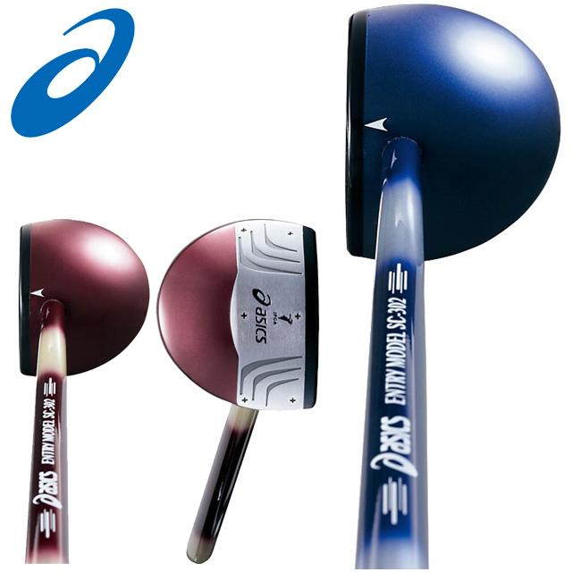 asics (アシックス) パークゴルフ GGP206 クラブ・ボール・フリースケース3点セット