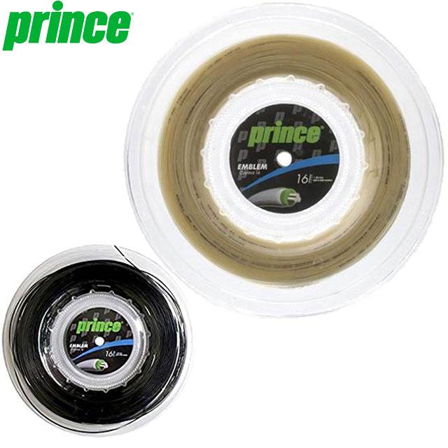 プリンス ガット 一般 硬式ガット R EMBLEM CON16 200M ストリングス ギア 耐久性 マルチフィラメント スナップバック効果 特殊コーティング 高いコントロール性 アクセサリー 用具 用品 小物 テニス 試合 練習 トレーニング 200mリール Prince 7JJ016