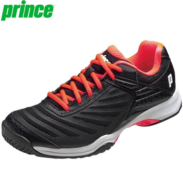 プリンス シューズ メンズ 靴 テニスシューズ スニーカー オールコートM 替紐 ブラック 柔らかな足入れ 高いクッション性 軽量ワイドモデル アクセサリー 用具 用品 小物 テニス 試合 練習 トレーニング 25.0-28.5 Prince DPS911