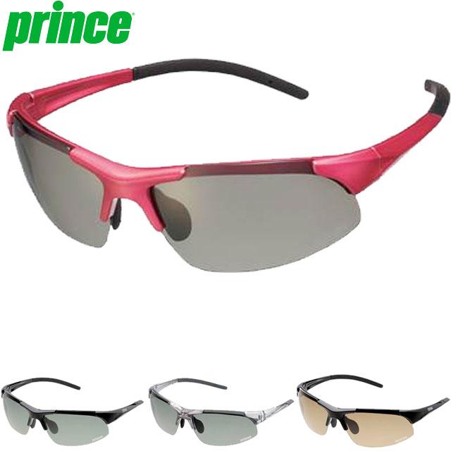 プリンス サングラス 一般 調整機能付き調光偏光サングラス 色眼鏡 調光偏光レンズ UVカット 調整可能ノーズパッド 専用セミハードケース付 フィット スポーティー アクセサリー 用具 用品 小物 テニス 試合 練習 トレーニング F Prince PSU232