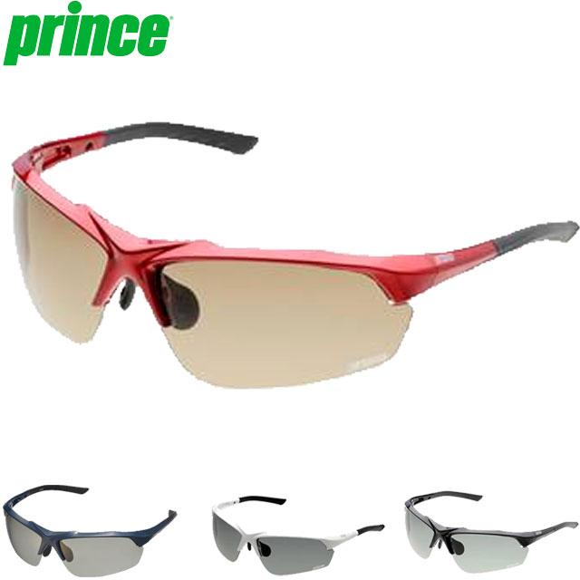 プリンス サングラス 一般 調整機能付き調光偏光サングラス 色眼鏡 調光機能 偏光機能 UVカット 調整可能ノーズパッド フィット ややワイドタイプ 専用セミハードケース付 スポーティー アクセサリー 用具 用品 小物 テニス 試合 練習 トレーニング F Prince PSU233