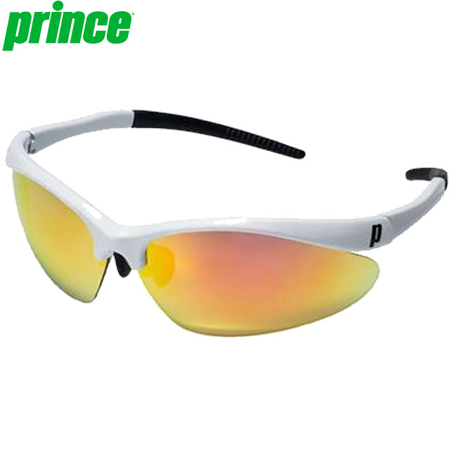 プリンス サングラス 一般 プレミアハイコントラストミラー偏光サングラス 色眼鏡 近赤外線を軽減 クール 快適 調整可能ノーズパッド 専用セミハードケース付き アクセサリー 用具 用品 小物 テニス 試合 練習 トレーニング F Prince PSU630
