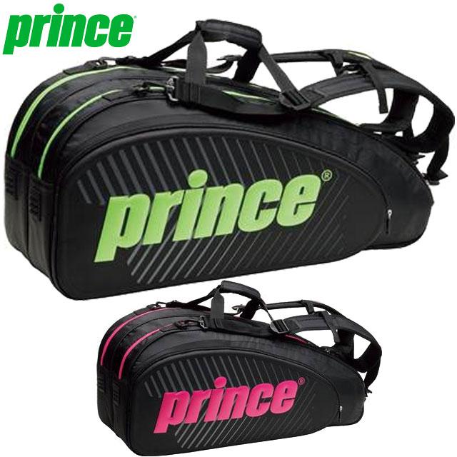 プリンス バッグ 一般 ラケットバッグ ラケットバッグ6本入 モールドパネル グローバルデザイン アクセサリー 用具 用品 小物 テニス 試合 練習 トレーニング 6本入り Prince TT702