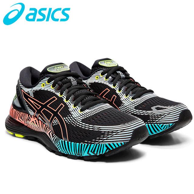 アシックス シューズ レディース 靴 GEL-NIMBUS 21 LS ランニングシューズ スニーカー アクセサリー クッショニングシステム 軽量 反発 滑らか 衝撃緩衝性 フィット感 快適 スポーツ ランニング ジョギング トレーニング フィットネス 22.5-26.5 asics 1012A540