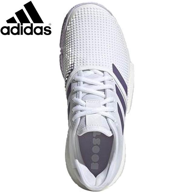 アディダス シューズ レディース 靴 SOLECOURTW スニーカー テニスシューズ オールコート 用具 用品 小物 アクセサリー テニス 試合 練習 トレーニング 22.0-28.5 adidas EF2464