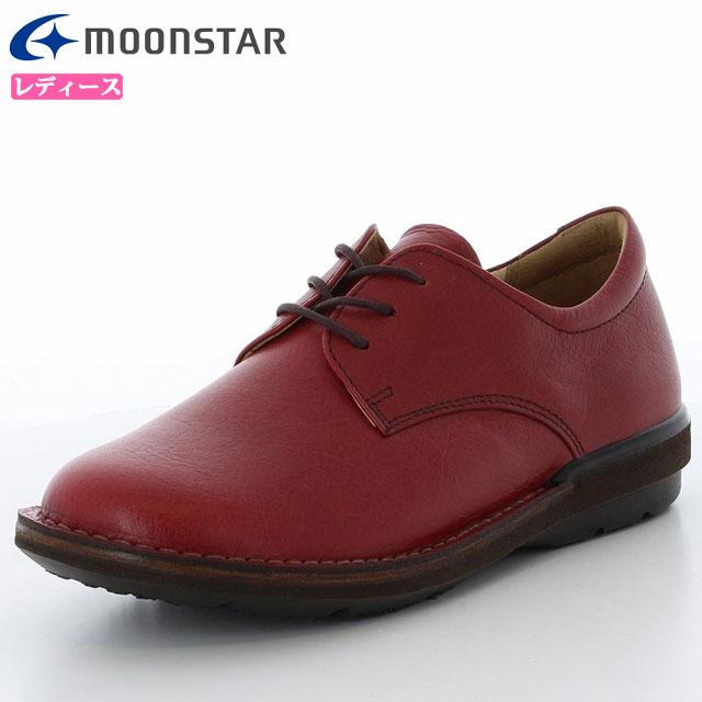 送料無料 ムーンスター シューズ レディース SL3ハトメ01 42600012 MOONSTAR カジュアル 革靴